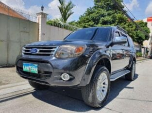 Lockdown Sale! 2014 Ford Everest 2.5 ICA II Manual 4X2 Black Manual