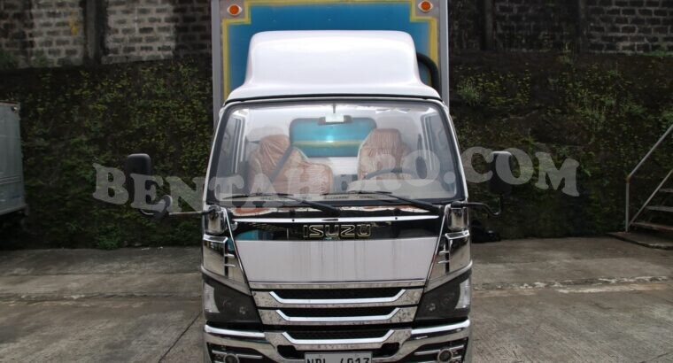 Isuzu Sobida Aluminum Closed Van elf canter