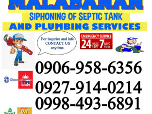 JTW Malabanan Siphoning Of Septic Tank And Plumbing Services:24/7